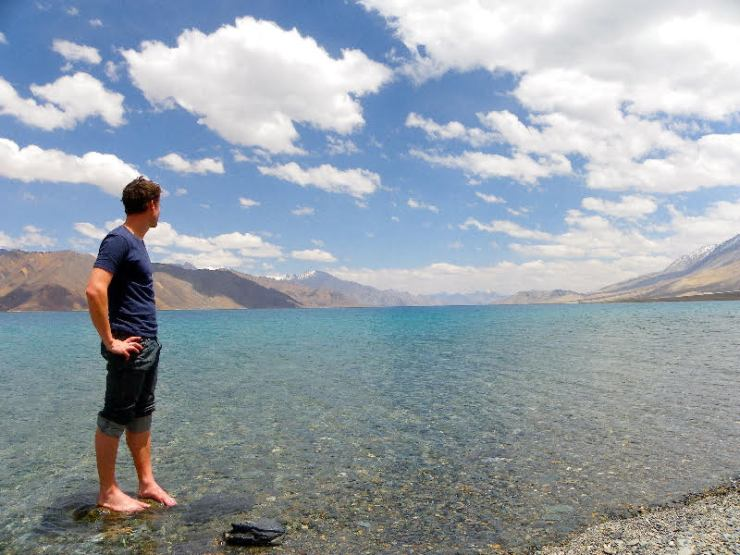 ladakh getting inspired by the spectacular mountains and lakes of Ladakh, India