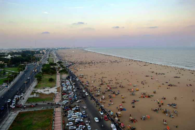Darshan Simha - Marina Beach Chennai