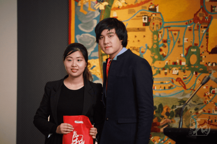 Nell with BLC External Vice President, Nathan Hang