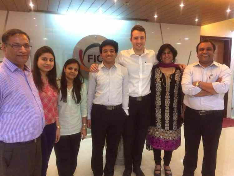 John and the team at FICCI, Delhi
