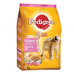 Pedigree Chicken And Milk Puppy Dog Food 3KG