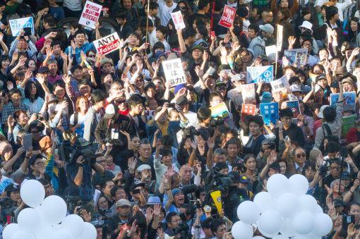 Peace Protest in Tokyo photo Akinori 5