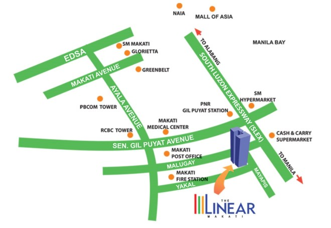 Make the City Your Home at Philippine Condo The Linear Makati | Philippine Property | Yazhou Property