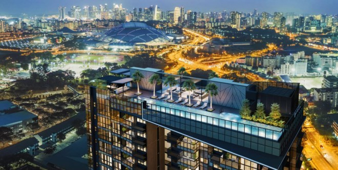 2018 New Condo Launch: Arena Residences, near MRT at Geylang City, Singapore