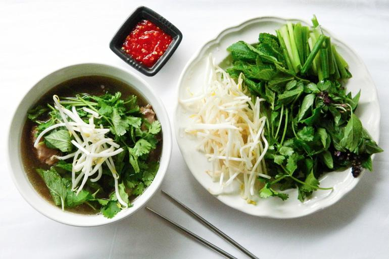 Pho,The famous food of Vietnamese