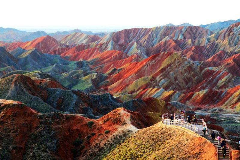Zhangye Danxia Mountain