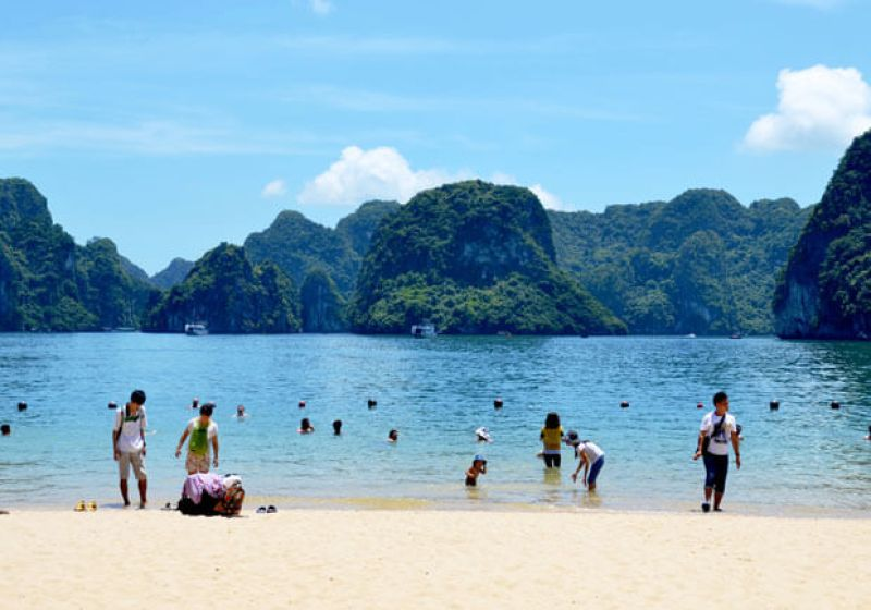 Ti Top Island - the most pristine bath of Ha Long Bay