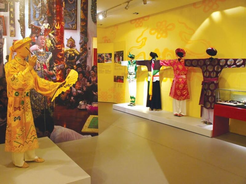 Vietnam Women's Museum is the leading tourist attraction in Vietnam