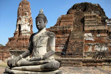 Wat Phra Mahathat (Ayutthaya),Wat Phra Mahathat (Ayutthaya) in Thailand