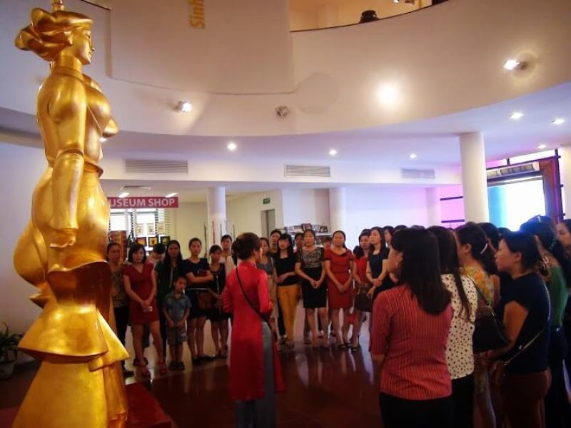 Vietnam Women's Museum attracts many tourists every day