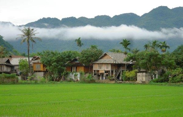 Pom Coong Village - Mai Chau - Hoa Binh - Vietnam