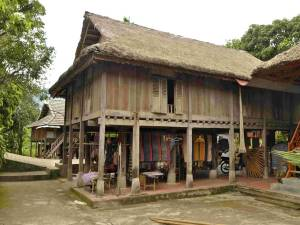 Mai Chau stilt-house