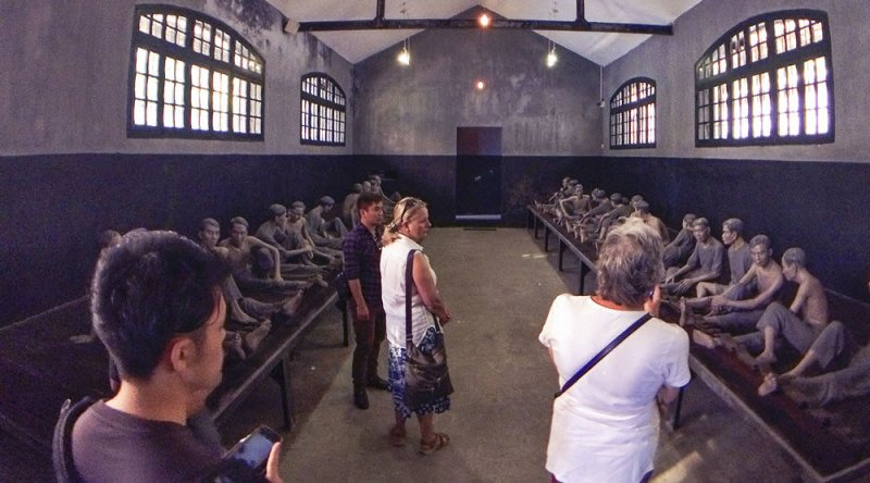 Hoa Lo Prison is among the most frightening locations in Southeast Asia