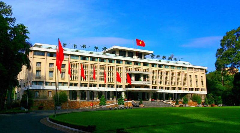 Independence Palace - The place to go when traveling Ho Chi Minh City