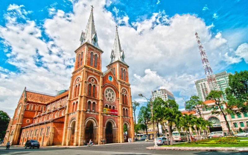 The Notre Dame Cathedral – Ho Chi Minh City