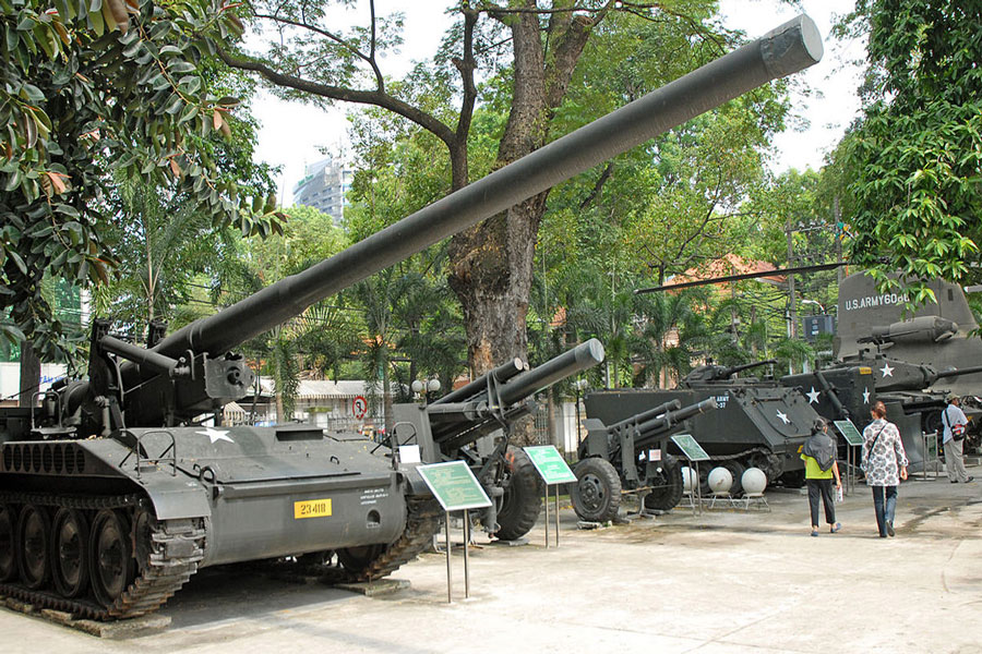 Places to visit in the War Remnents Museum, best time to visit War Remnents Museum
