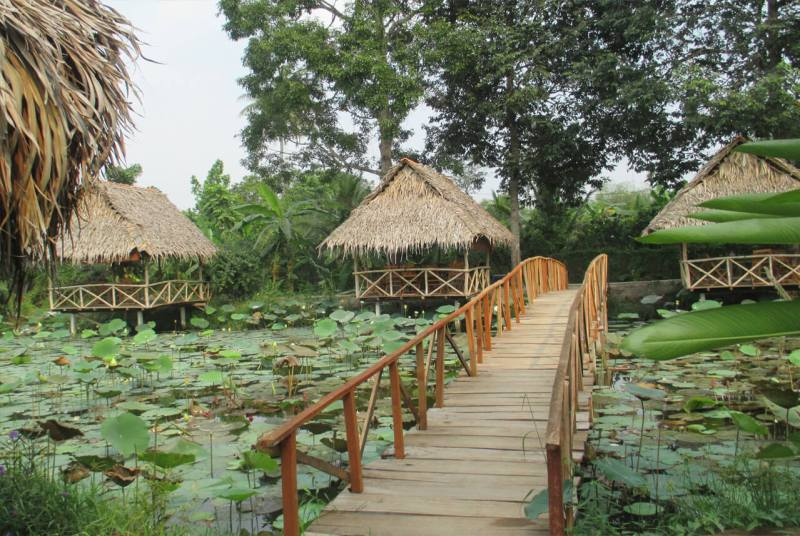 Le Loc – ecological garden need folk poetry to attract many visitors