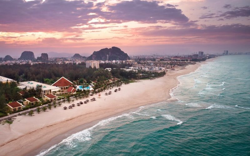 Paradise resorts in Non Nuoc Beach Danang