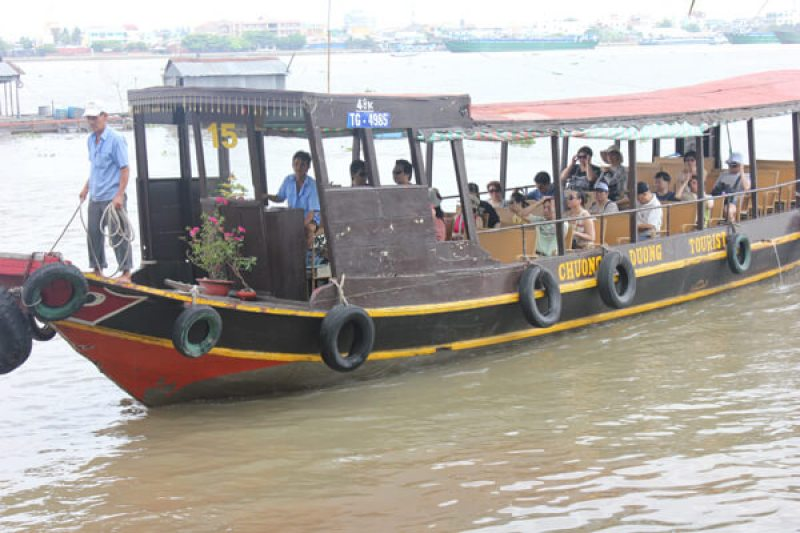 Tourism here is being improved to serve tourists