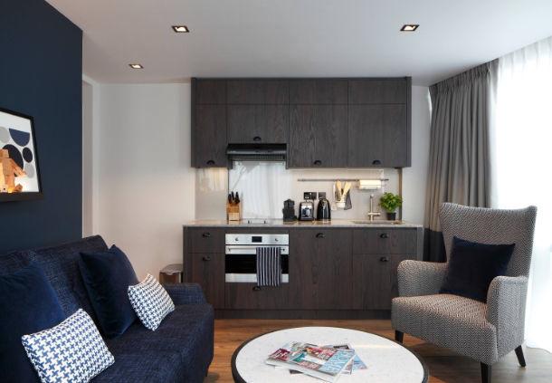 Studio kitchen at the Residence Inn - London Bridge