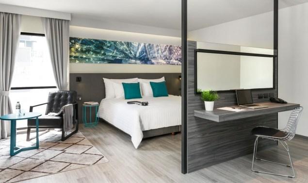 Room at the X2 Vibe Bangkok Sukhumvit Hotel
