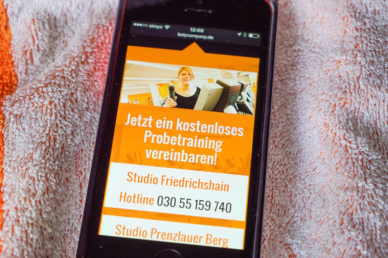 Ladycompany - Fitness für Frauen - Neue Internetseiten sind online!