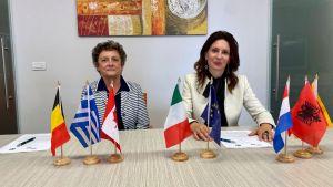 Annamaria Annicchiarico e Rossana Rodà
