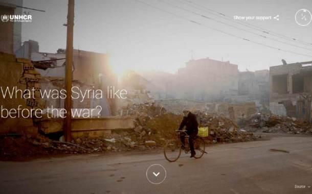 «البحث عن سوريا» موقع إلكتروني من