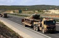 وصول تعزيزات عسكرية تركية إلى الوحدات المتمركزة على الحدود السورية