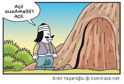 Ali Babanın Güçlü Şifresi