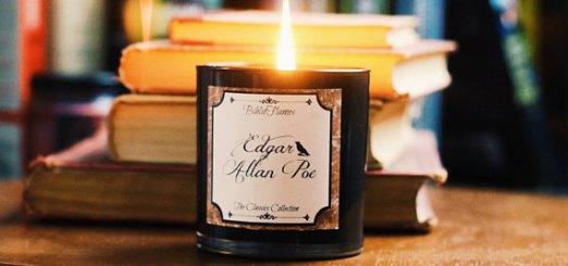 Edgar Allan Poe Soy Bookish Candle