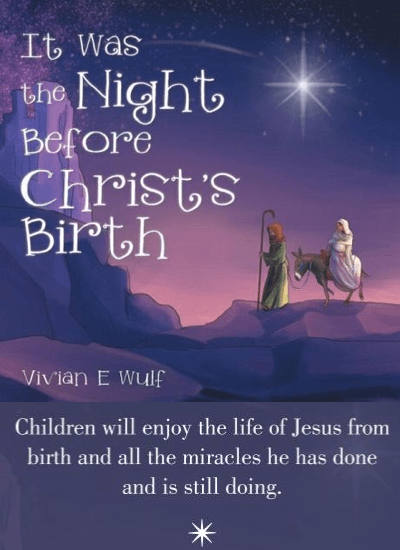 It Was the Night Before Christ's Birth|Book Review
