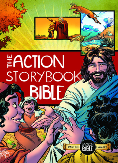 The Action Storybook Bible: An Interactive Adventure through God's Redemptive Story|Book Review