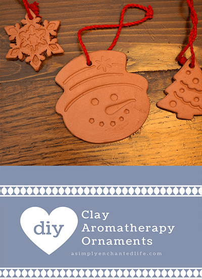DIY Clay Aromatherapy Ornaments|Aromatherapy