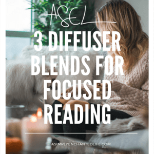 3 Diffuser Blends for Focused Reading