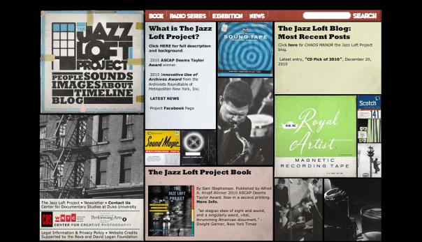 The Jazz Loft Project