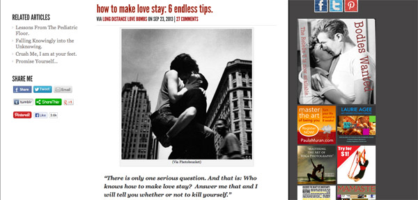 How to Make Love Stay  6 endless tips.   Rebelle Society