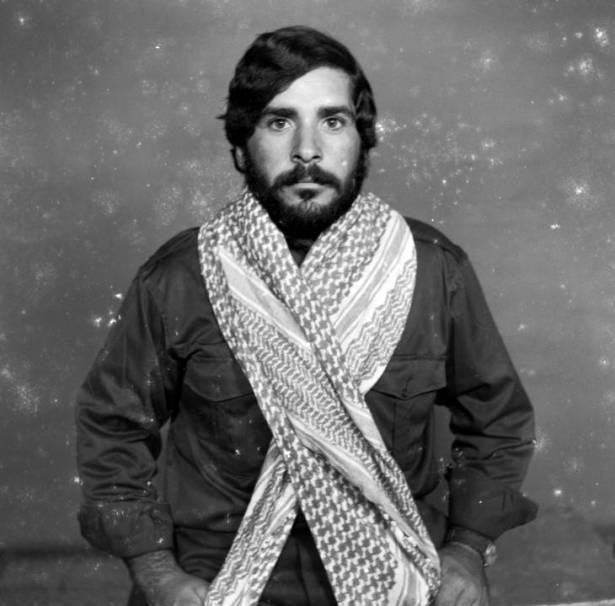 Syrian resistant. Studio Shehrazade, Saida, Lebanon, early 1970s. Hashem el Madani 2007 by Akram Zaatari born 1966