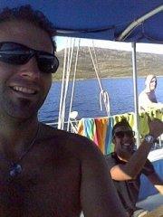 francesco e simone su miguel catamaran