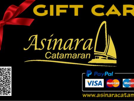 gift card buon regalo asinara catamaran