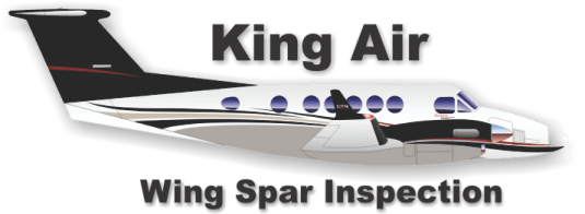 King Air Wing Spar Inspection