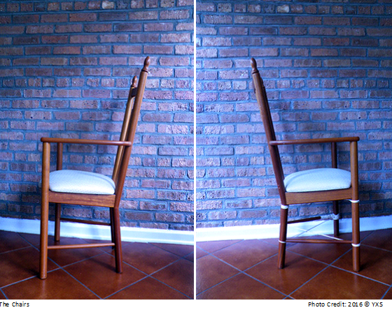 back to back chairs