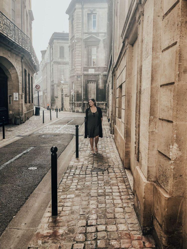 Alone in Bordeaux