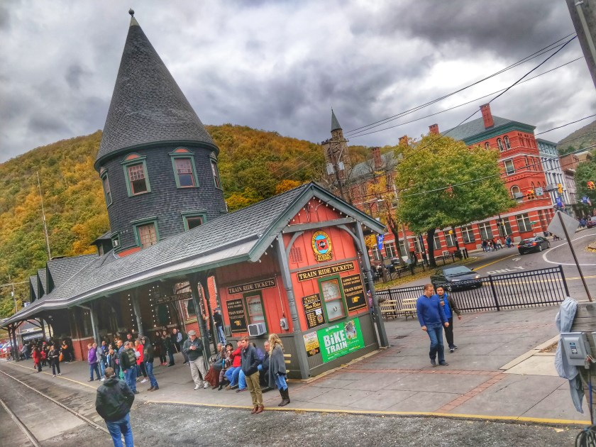 lehigh gorge scenic railway station