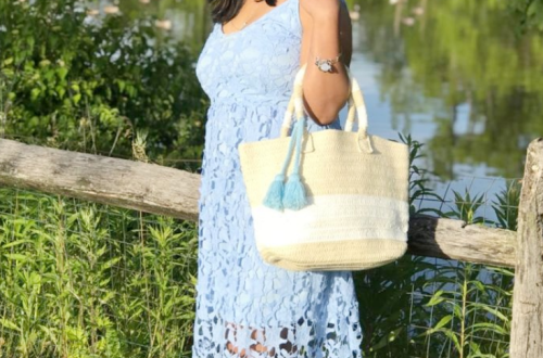 perfect lace midi dress for Summer