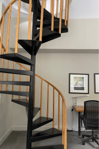 Ledges hotel- Spiral staircases