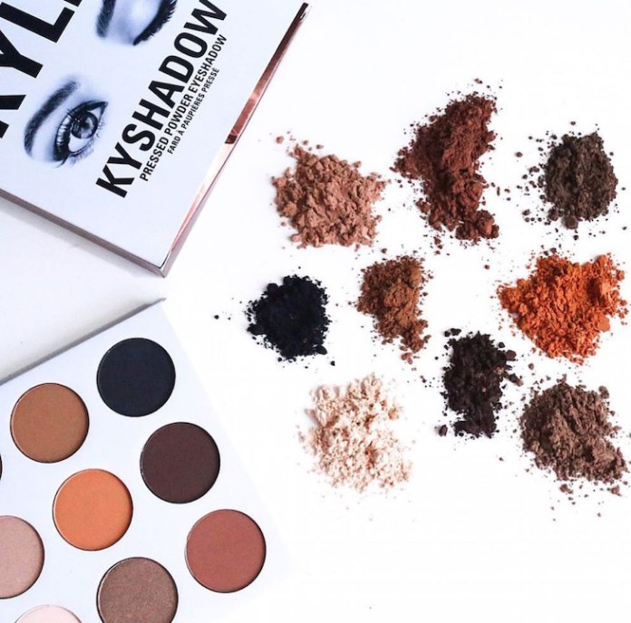 Kylie-Cosmetics-KYSHADOW-Pressed-Powder-Eyeshadow-Palette-The-Bronzed-Palette-PinkOrchidMakeup-Vivi-Brizuela-1