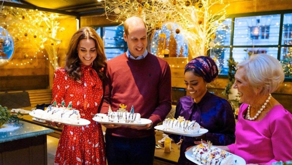 Ο πρίγκιπας Ουίλιαμ και Κέιτ Μίντελτον παρουσιαστές σε εκπομπή μαγειρικής