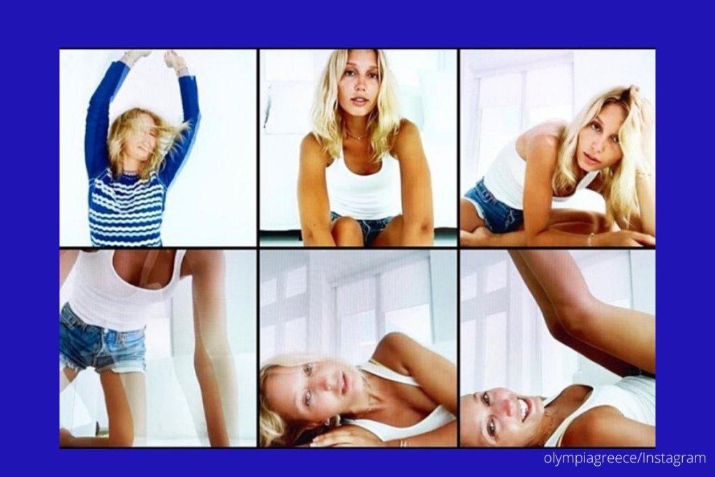 Η γαλαζοαίματη Μαρία-Ολυμπία έκανε φωτογράφηση μόδας μέσω FaceTime