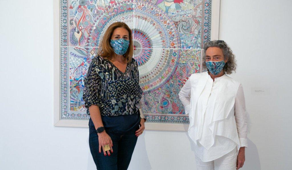 Η «Κοσμομορφία» της Ιωάννας Ράλλη, στην γκαλερί Ζουμπουλάκη